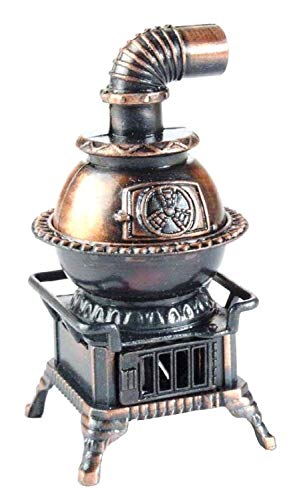 Pot Belly Stove Die Cast Metal Collectible Pencil -