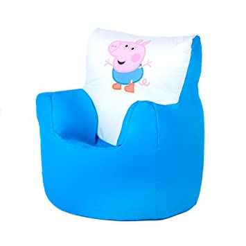 Boxify George Pig Print Children S Toddler Character Bean Bag Chair