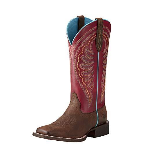 Ariat Women's Circuit Shiloh Work Boot, Weathered Brown, 9 B US