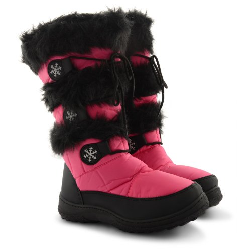 Footwear Sensation - Botas para mujer negro negro negro - fucsia