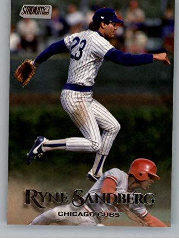 2019 Topps Stadium Club #38 Ryne Sandberg Chicago Cubs Baseball Card
