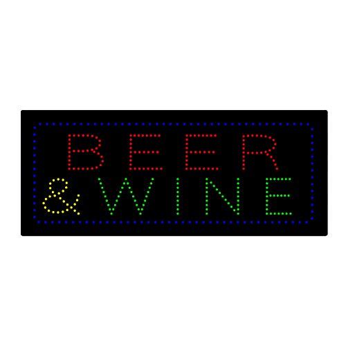 LED Beer Bar Wine Liquor Spirits Open Light