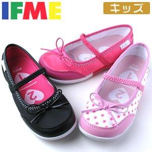 ブラック 21.0 IFME イフミー 22,3014 子供靴 キッズ シューズ スニーカー ガールズ