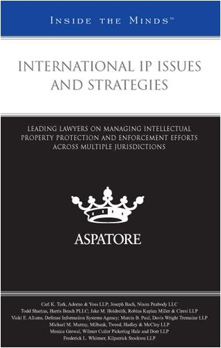 International IP Issues and Strategies: Leading Lawyers on Managing Intellectual Property Protection and Enforcement Efforts across Multiple Jurisdictions (Inside the Minds)