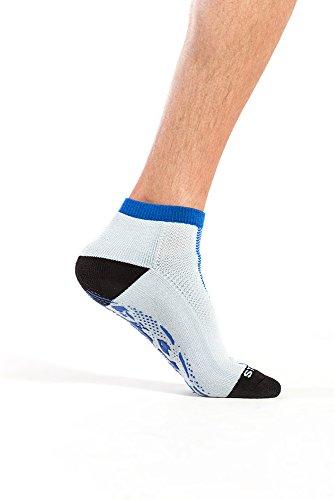 StopSocks: Hospital Socks + Yoga, Traction, Gym, Tread, Non Skid, Anti Slip Socks – Megaformer + The Perfect Running Sock Review
