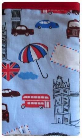 London in Blau Apple iPhone 6Socke/Case/Cover/Tasche