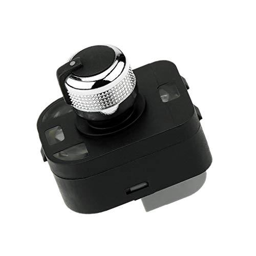 Bobury Fachada Lateral de Control Espejo botón Interruptor de Ajuste Perilla 4F0959565 Coche Accesorios Interior: Amazon.es: Hogar