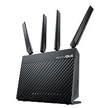 ASUS 4G-AC68U - Router inalámbrico Gigabit AC1900 4G LTE (CAT 6, indicador señal LTE, Servidor y cliente VPN, USB 3.0)