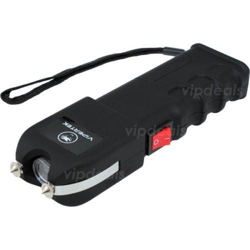VIPERTEK VTS-989 - Rechargeable Police Stun Gun LED Wholesale Lot + Taser Case by ExpertsDeals