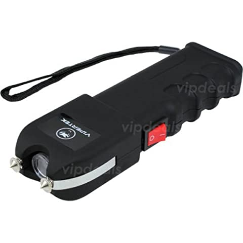 VIPERTEK VTS-989 - Rechargeable Police Stun Gun LED Wholesale Lot + Taser Case (Teen Wolf Kindle Case)