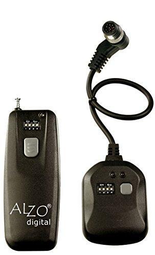 Alzo Wireless Radio Shutter Release for Nikon Fuji - 300 Ft Range - Incl. D700, D300, D200, D3, D2, D2H, D2Hs, D2X, D1, D1H, D1X & Fuji S3, S5, Uvir (Shutter Radio Release)