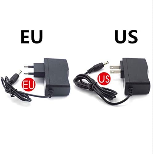 Output Current : 2A, Output Voltage : 6V, Plug Type : US AC 110-240V DC 5V 6V 8V 9V 10V 12V 15V 0.5A 1A 2A 3A Universal Power Adapter Supply Charger Adapter EU Us for LED Light Strips