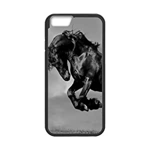 """Custom-buitd Dual-Protective Case for Iphone6 Plus 5.5"""", Galloping Horse Cover Case - HL-R670221 by ruishername"""