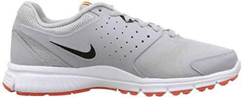 Nike Revolution Eu - - hombre Grau (Wolf Grey/Black-Tm Orange-Total Orange 008)