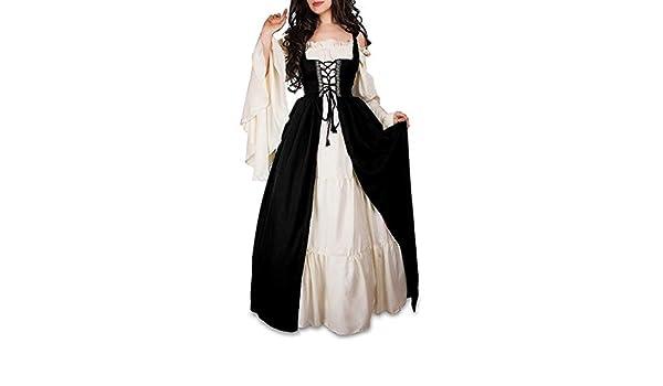 Conjunto boho Medieval traje irlandés Chemise y sobre ...