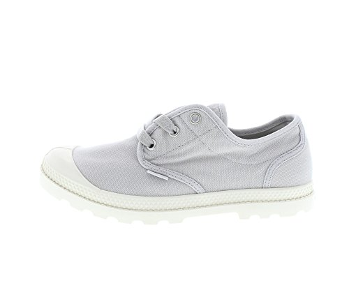 Palladium Womens Pampa Oxford Low Profile Textiel Trainers Mashroom