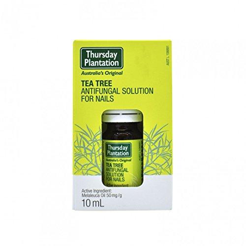 Thursday Plantation Tea Tree Antifungal Solution for Nails,10 ml (Tea Tree Oil For Fungus Nail)