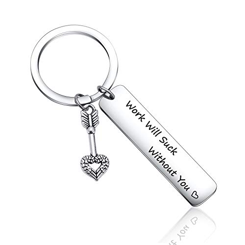 work friend Leaving Gift coworker Goodbye Farewell Gift colleague Going Away gift Appreciation Gift coworker promotion gift Goodbye Gift moving away jewelry business partner gift Work Friend keychain