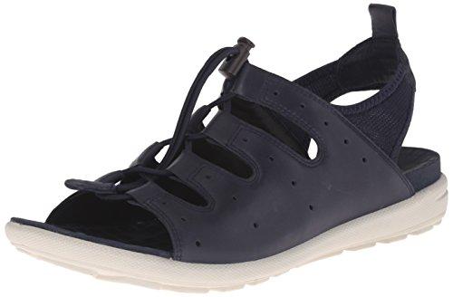 ECCO Footwear Womens Jab Toggle Dress Sandal, Marine, 41 EU/10-10.5 M US