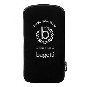 Bugatti Slim Case 77Tallin for Apple iPhone se 2016Black