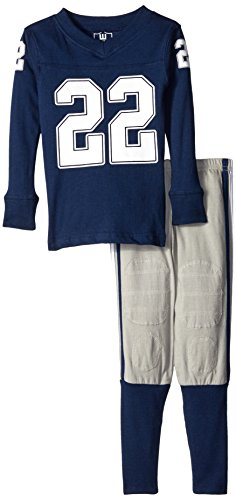 Boys Wes Willy And Pants (Wes and Willy Boys' Little Slim M G Long Sleeve Pajama, Midnight, 2)
