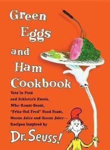 Green Eggs and Ham Cookbook [Spiral-bound] [2006] Georgeanne Brennan, Dr. Seuss