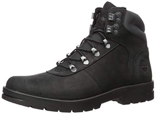 Timberland Men's Newtonbrook Mid Hiker Boot, Black Nubuck, 095M M US