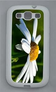 sparkly cover Camomlie Closeup TPU White case/cover for Samsung Galaxy S3 I9300
