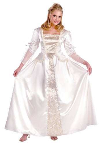 [Deluxe Adult Elizabeth Costume - Womens Size 12-14] (Elizabeth Deluxe Adult Costumes)