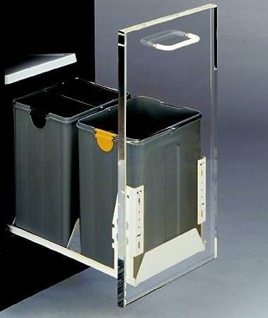 Abfallsammler Dreifach Getrennt 2 X 11 Liter Und 1 X 4 Liter Bio