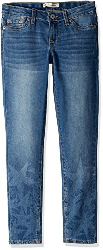 Image of Levi's Girls' Big 710 Super Skinny Fit Jeans, west Lake, 8