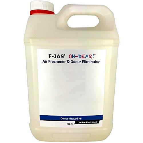 F-JAS Air Freshener & Odour Eliminator (5L Concentrated, Double Fragrance, Captain Farrells Single Malt Scotch) ()