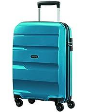 American Tourister Bon Air Spinner Bagaglio a Mano 55 Cm, 32 L, Blu (Seaport Blue)