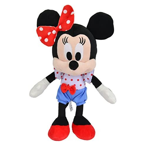 Simba 6315873133 Peluche Disney I Love Minnie de 25 cm