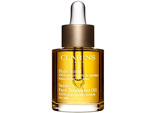 Clarins Santal Face Treatment Oil-dry or Extra Comfort and Decongest Dry Skin - 1 Oz