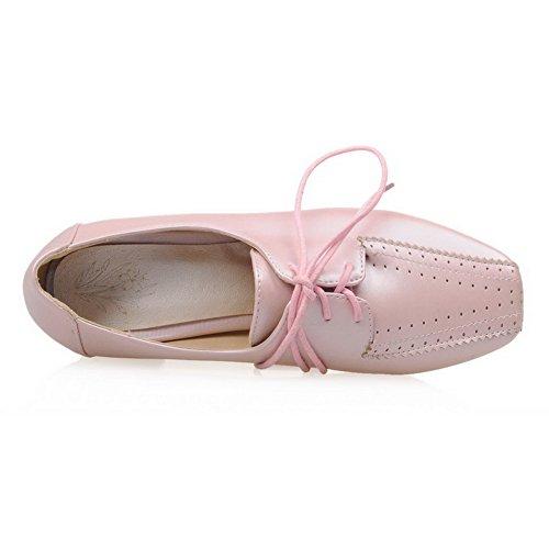 1TO9 - Zapatos de vestir para mujer, color rosa, talla 43 EU