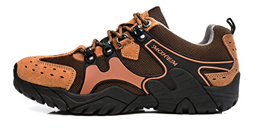 MOHEM Titans Casual Trail Sneakers Outdoor Wanderschuhe für Männer Hellbraun