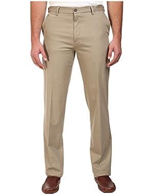Men's Men's Big & Tall Signature Stretch Flat Front Timber Wolf Pants