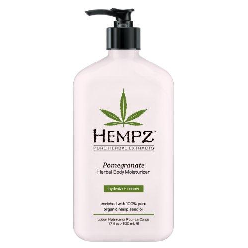 Hempz grenade Hydratant Herbal 17 fl oz (500 ml) (emballage peut varier)