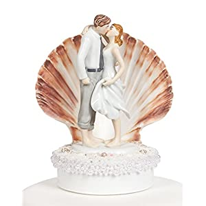 41Dju3WxYwL._SS300_ 50+ Beach Wedding Cake Toppers and Nautical Cake Toppers For 2020