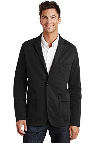 port-authoritym2000-knit-blazer-xl-black