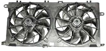 TYC 620700 Buick Park Avenue Replacement Radiator/Condenser Cooling Fan - Park Buick Fan Avenue