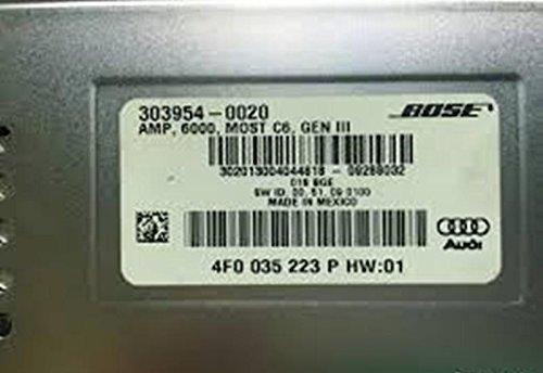 Audi A6 S6 BOSE SOUND SYSTEM Amplifier OEM 2009-2011