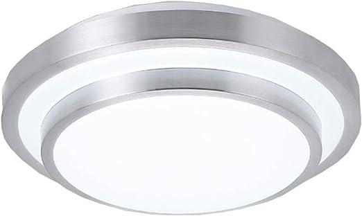 HONY Techo De Aluminio Moderna LED15W Redonda De Plata