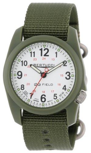 Bertucci Men's 11019 Durable Poly Resin Field Watch