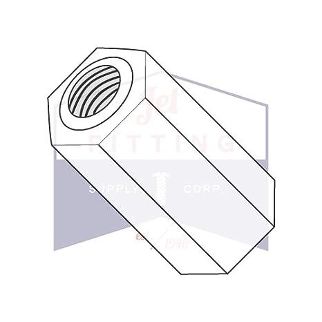 // 6-32 x 3//4 // Nylon//Outer Diameter: 1//4 Made in USA Female-Female Quantity: 1,000 pcs Thread Size: 6-32 Length: 3//4 1//4 OD Round Standoffs
