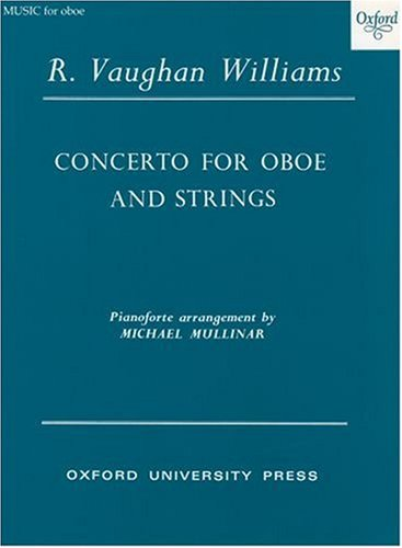 Concerto For Oboe And Strings: Reduction For Oboe And Piano