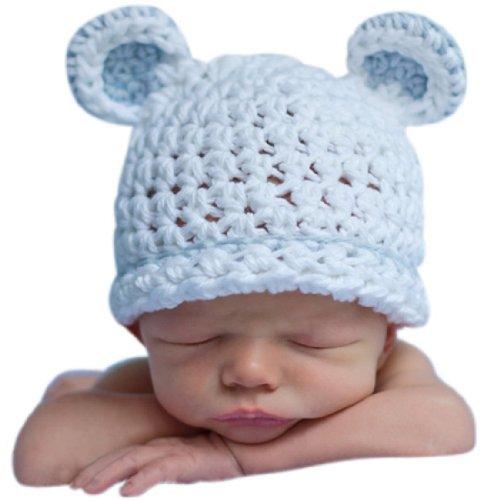 Lowestbest Sugar Bear Boy with Light Blue Trim Beanie Baby Hat - Buy Online  in UAE.  e1f5799b223b