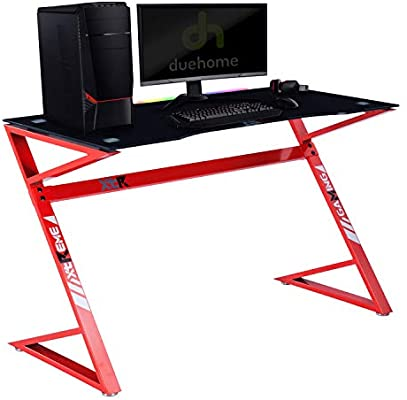 Adec - XT03, Mesa Gamer, Mesa Ordenador, Escritorio Gaming, Color ...
