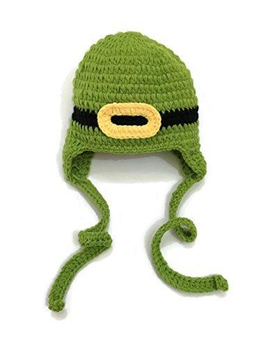 Rush Dance St Patrick's Day Leprechaun Crochet Beanie Photo Prop Costume Hat